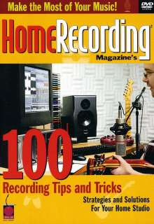 100 Recording Tips & Tricks For Home Recording Dvd, Noten