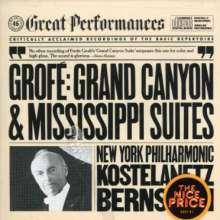 Ferde Grofe (1892-1972): Mississippi Suite, CD