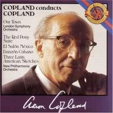 Aaron Copland (1900-1990): El Salon Mexico, CD