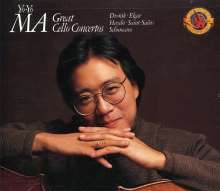 Yo-Yo Ma - Great Cello Concertos, 2 CDs