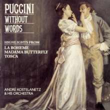 André Kostelanetz: Puccini Without Words, CD
