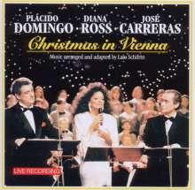 Placido Domingo, Jose Carreras, Diana Ross in Wien 1992, CD