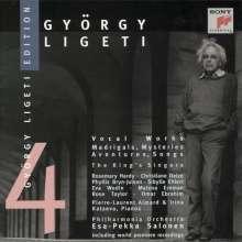 György Ligeti (1923-2006): György Ligeti Edition Vol.4, CD