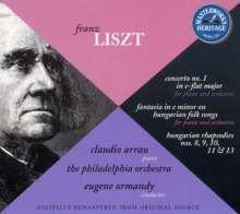 Franz Liszt (1811-1886): Klavierkonzert Nr.1, CD