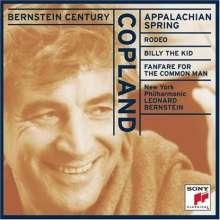 Copland / Bernstein: Appalachian Spring / Rodeo / B, CD