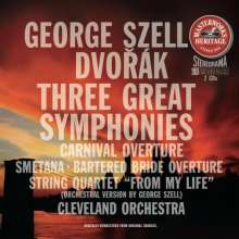 Antonin Dvorak (1841-1904): Symphonien Nr.7-9, 2 CDs