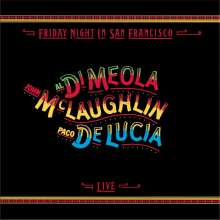 Paco de Lucia, Al Di Meola & John McLaughlin: Friday Night In San Francisco (remastered), CD