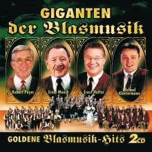 Giganten der Blasmusik - Goldene Blasmusik-Hits Folge 2, 2 CDs