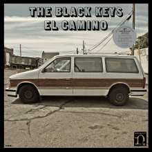 The Black Keys: El Camino (Limited Numbered 10th Anniversary Super Deluxe Edition) (2021 Remaster) (Black Vinyl), 5 LPs