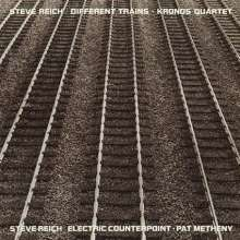 Steve Reich (geb. 1936): Different Trains / Electric Counterpoint, CD