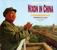 John Adams (geb. 1947): Nixon in China (Oper in drei Akten), 3 CDs