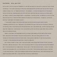 Brad Mehldau (geb. 1970): Suite: April 2020, LP