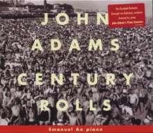 """John Adams (geb. 1947): Klavierkonzert """"Century Rolls"""", CD"""