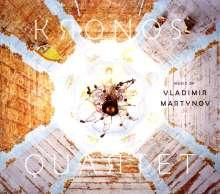 Vladimir Martynov (geb. 1946): Musik für Streichquartett, CD