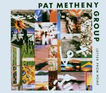 Pat Metheny (geb. 1954): Letter From Home, CD