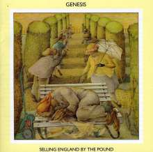 Genesis: Selling England By The Pound, CD