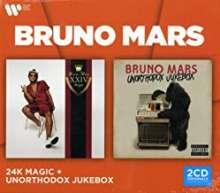 Bruno Mars: 24K Magic / Unorthodox Jukebox, 2 CDs