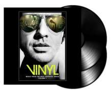 Filmmusik: Vinyl: Music From The HBO Original Series Vol. 1 (180g), 2 LPs und 1 CD