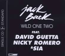 Jack Back feat. David Guetta: Wild One Two, Maxi-CD