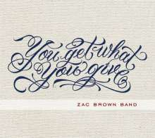 Zac Brown Band: You Get What You Give, CD