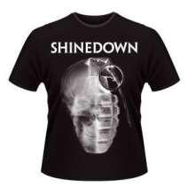 Shinedown: Skull Grenade (Größe S), T-Shirt