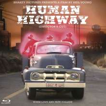 Neil Young: Human Highway (Director's Cut), Blu-ray Disc