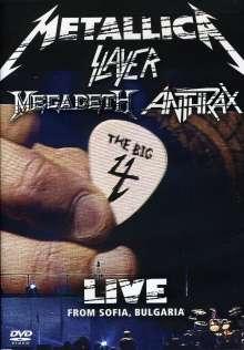Metallica, Slayer, Megadeth & Anthrax: Big 4: Live From Sofia Bulga.., 2 DVDs