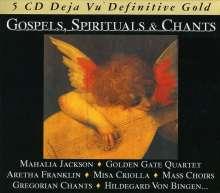 Gospels, Spirituals & Chants, 5 CDs