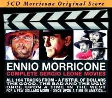 Ennio Morricone (geb. 1928): Filmmusik: Complete Sergio Leone Movies, 5 CDs