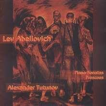 Lev Abeliovich (1912-1995): Klaviersonaten Nr.1-3, 2 CDs