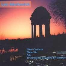 Lev Abeliovich (1912-1995): Klavierkonzert, CD