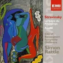 Igor Strawinsky (1882-1971): Apollon Musagete, CD