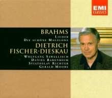Johannes Brahms (1833-1897): 164 Lieder, 6 CDs