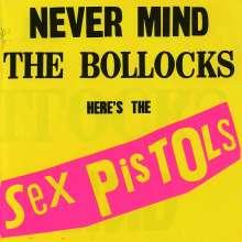 Sex Pistols: Never Mind The Bollocks, CD