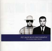 Pet Shop Boys: Discography, CD