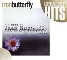 Iron Butterfly: Light And Heavy - The Best Of, CD