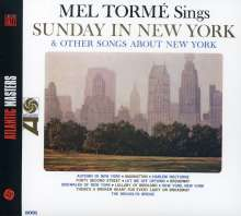 Mel Tormé (1925-1999): Sunday In New York And Other Songs About New York, CD