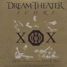 Dream Theater: Score: 20th Anniversary World Tour - Live With Octavarium Orchestra, 3 CDs