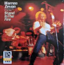 Warren Zevon: Stand In The Fire (Reissue) (Limited Numbered Edition), 2 LPs