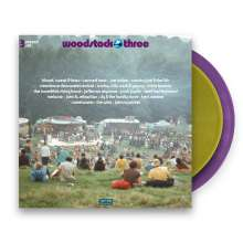 Woodstock Three (Limited Edition) (Purple + Gold Vinyl), 3 LPs