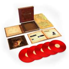 Filmmusik: The Lord Of The Rings: The Fellowship Of The Ring (180g) (Limited-Numbered-Edition) (Red Vinyl), 5 LPs