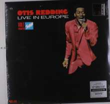 Otis Redding: Live In Europe (50th Anniversary) (Reissue) (Limited-Edition) (Red Vinyl) (Mono), LP
