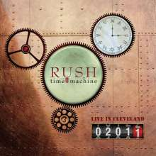 Rush: Time Machine 2011: Live In Cleveland (180g), 4 LPs