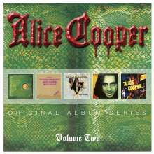 Alice Cooper: Original Album Series Vol.2, 5 CDs