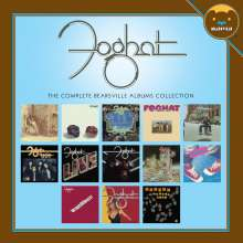 Foghat: The Complete Bearsville Albums Collection, 13 CDs