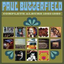 Paul Butterfield: Complete Albums 1965 - 1980, 14 CDs