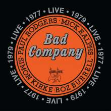 Bad Company: Live In Concert 1977 & 1979, 2 CDs