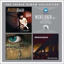 Nickelback: The Triple Album Collection Vol.1, 3 CDs