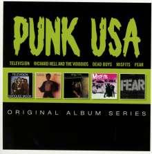 Punk USA: Original Album Series, 5 CDs