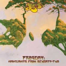 Yes: Progeny: Highlights From Seventy-Two - Live (180g), 3 LPs